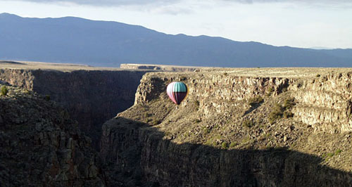 floating through the Rio Grande Gorge